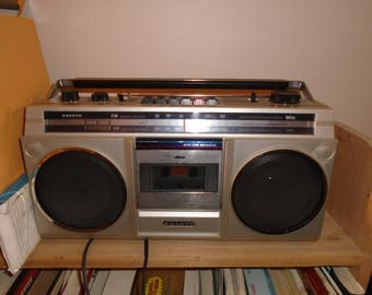 Vintage Sanyo M9800 Boombox Works Great