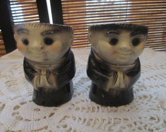 Monk Egg Cups Set of Two