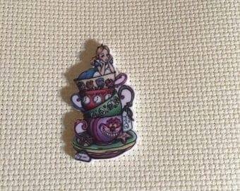 Needle Minder, Alice in Wonderland & Cheshire Cat , Needle Keep Emporium