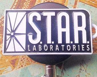 Star Laboratories heavy duty name badge holder