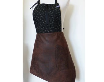 Modern and original woman apron for kitchen model Emma