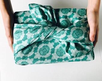 Furoshiki wrapping cloth / Fun Skull Design