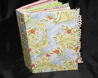 MATTIE .. A Junk Journal, Writing Journal, Personal Journal, Handmade Journal, Diary Journal, Keepsake Journal, Handcrafted Journal