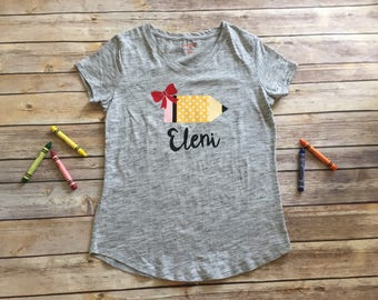 """The """"Write"""" One Back to School T-Shirt"""