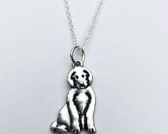 Labradoodle Charm Necklace