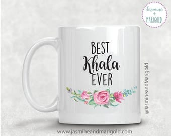 Best Khala Ever - Best phuppo Ever - Best Aunt Gift - Gift for Sister - Gift for Chai Lover | Chai Cup | Gift for Friend, Sister, new aunt