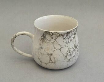 Bubble glazed mug- Handmade stoneware ceramics