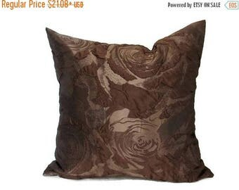 20%off Brown Pillow, Brown Pillows,  Brown Bed Pillow, Brown Pillow Cover, Brown Decorative Pillow, Brown Couch Pillow, Brown Sofa Pillow