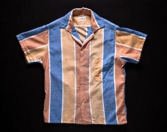 1950s Stripe Shirt Small