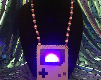 Gamer kandi necklace (ready to ship)