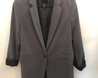 New Year SALE! 10% OFF!1990s Grey Blazer