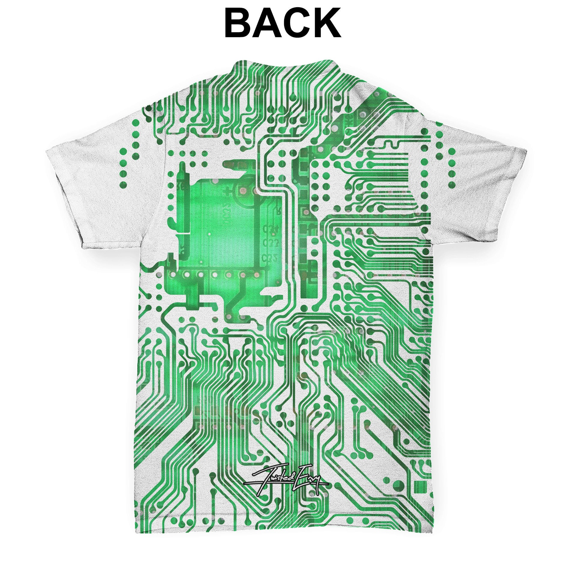 Circuit Board Baby Toddler All Over Print T Shirt