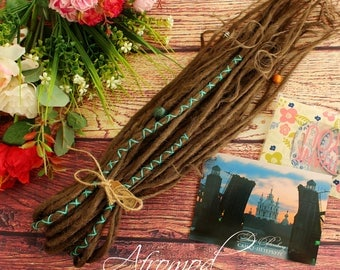 DE Synthetic Dreads Very Natural Set