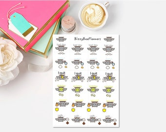 Bad Day Planner Stickers-ECLP-HP