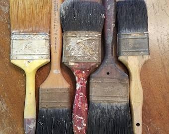 Vintage paint brushes lot#3