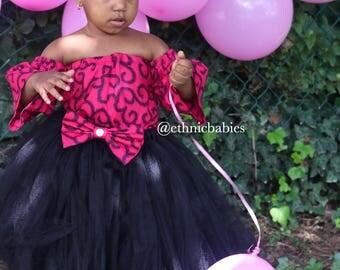 Ankara Tutu/ African fabric Tutu skirt/tutu dress/ethnic tutu/ Tutus/tutu skirts/Birthday dress/Flower girl dress