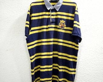 Vintage Polo Stripe Shirt