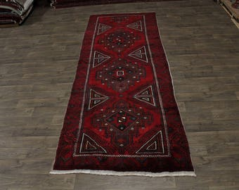 Unique Large Tribal Bakhtiari Balouch Runner Persian Area Rug Oriental Carpet 5X13