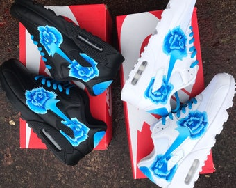 Faded blue rose nike air max 90
