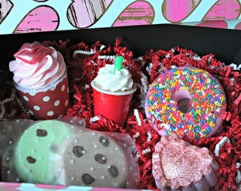 Valentines Day Bubble Bath Bomb Gift Box