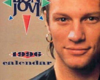Bon Jovi Calendar 1996