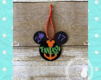 Halloween on the High Seas Disney Cruise Inspired Fish Extender Ornament