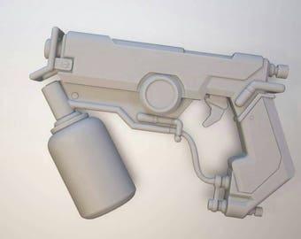 Tracer tracemaker grafitti skin inspirated  guns pistol cosplay safe prop