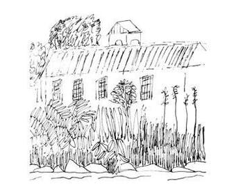Passage - art print of an original drawing