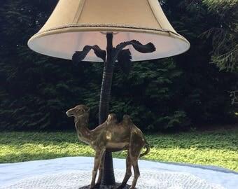 Camel Lamp Etsy