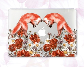 Flowers Macbook Pro Retina 15 Case Fox Macbook Pro 13 2016 Case Floral Macbook Air 13 Case Macbook Pro Hard Case Macbook Air 11 Case 263