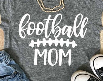 Football Mom svg, SVG, DxF, EpS, Cut file, football svg, shortsandlemons, SVG Sayings, football cricut, football sister svg, football mama