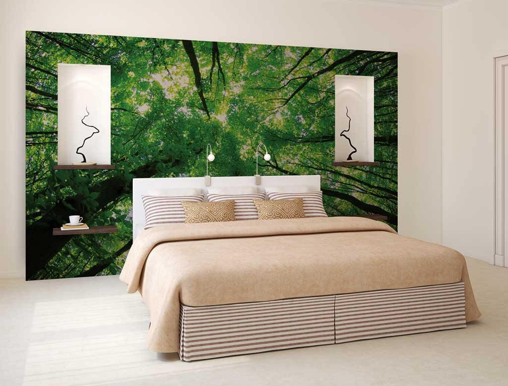 Forest wall decal choice image home wall decoration ideas wall mural tree tops tree tops wall decal wall decal forest wall mural tree tops tree amipublicfo Images
