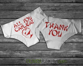 All You Can Eat Take-Out Undies