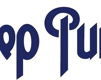 Deep Purple Decal
