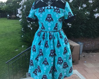 Girl's Darth Vader Star Wars Vintage Reproduction Dress