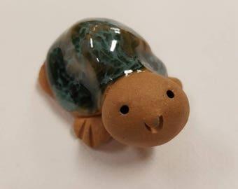 Little Guys Ceramic Box Turtle