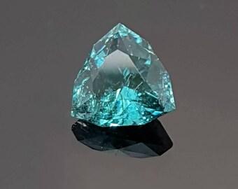 SALE Tourmaline Blue 0.65 Ct Loose Gemstone Natural Ror Tourmaline Ring Necklace Precious Gemstone Precision Cut By AveryGems