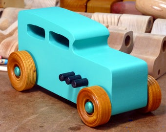 Wood Toy Cars, Wooden Cars, Wood Toys, Wooden Car, Wood Toy Car, 1932 Ford, Hot Rod, 32 Sedan, Street Rod, Speedster, Dragster, Race Car