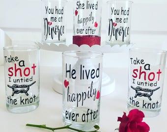 Divorce Party Glasses // 9oz glass