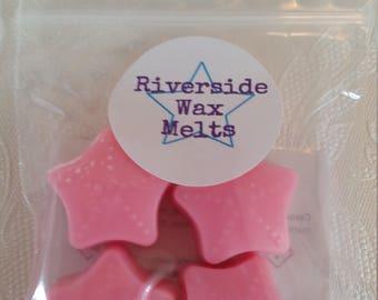 Pink grape wax melts, wax melts, wax, soy wax melts, scented wax, pink grape.