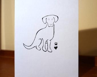 Sympathy Pet Loss Greeting Card
