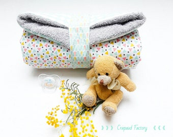 Changing mat for baby mobile