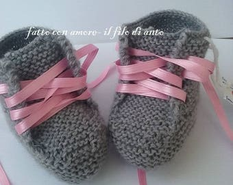 Baby shoes baby booties