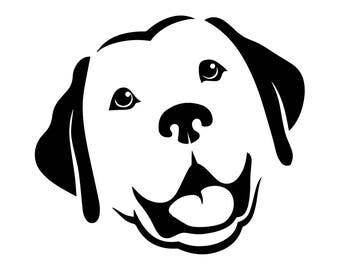 Labrador Retriever #3 Dog Breed K-9 Animal Pet Hound Lab Puppy Logo .SVG .EPS .PNG Digital Clipart Vector Cricut Cut Cutting Download File
