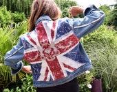 Redesigned denim jacket