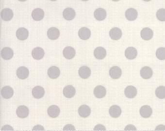 1 yard Moda Circulus gray cotton fabric designed by Jen Kingwell