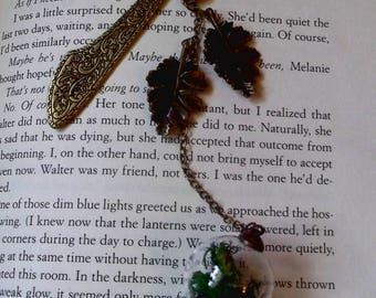 moss nature Celtic bookmark!