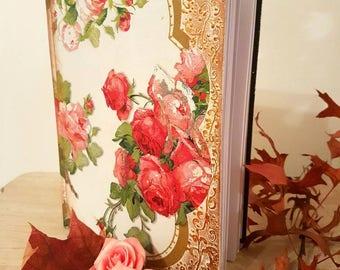 Shabby chic style agenda, diary