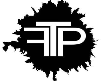 FTP vinyl decal sticker for Car/Truck Window tablet mac the population clothing