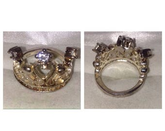On Sale Sterling Crown Ring